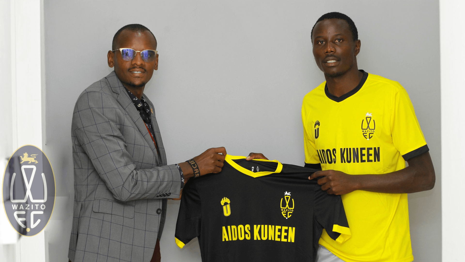 Official: Wazito signs trio