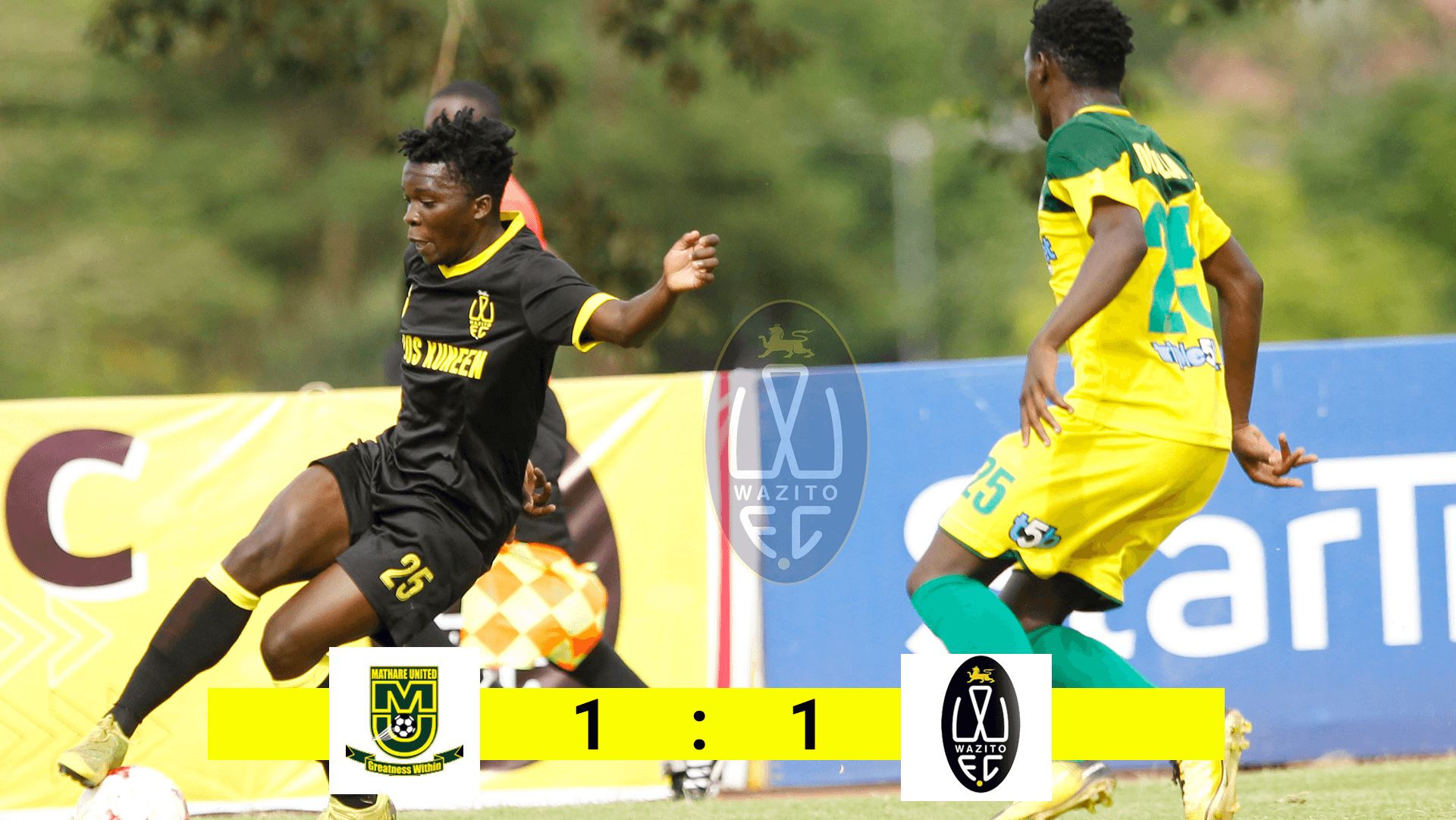 MATHARE vs WAZITO